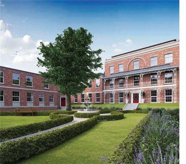 2 Bedrooms Flat for sale in 4 Magistrates, Abbey Square, Gander Lane, Tewkesbury, Glos, GL20 5PG