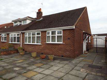 2 Bedrooms Bungalow for sale in Gainsborough Road, Warrington, Cheshire