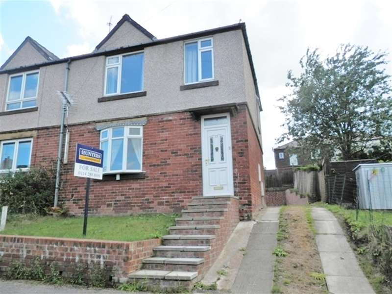3 Bedrooms Semi Detached House for sale in Sheldon Road, Stocksbridge, Sheffield, S36 1FE