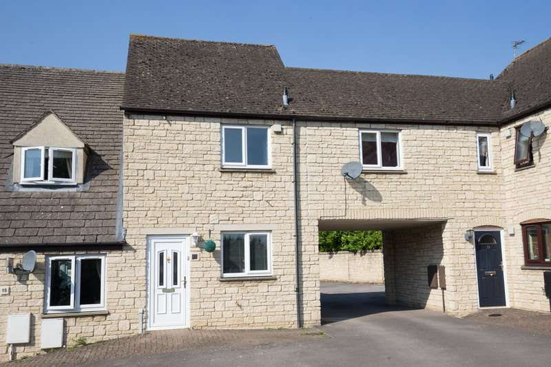 3 Bedrooms Terraced House for sale in Barrington Close, Witney, Oxfordshire, OX28