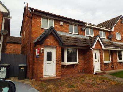 3 Bedrooms Semi Detached House for sale in Old Mill Close, Pendlebury, Swinton, Manchester