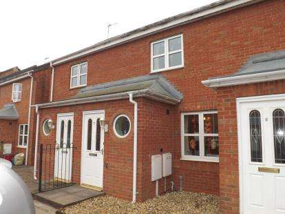2 Bedrooms Terraced House for sale in Kay Close, Coalville