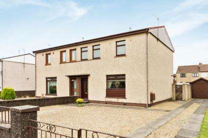 3 Bedrooms Semi Detached House for sale in Millglen Road, Ardrossan, North Ayrshire