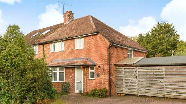 3 Bedrooms Semi Detached House for sale in Champion Way, Church Crookham, Fleet
