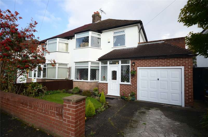 4 Bedrooms Semi Detached House for sale in Lynton Green, Woolton, Liverpool, L25