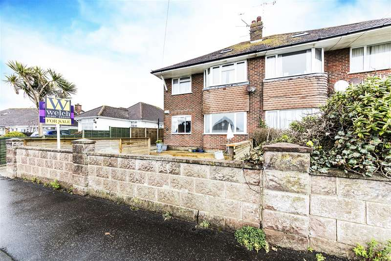 2 Bedrooms Ground Maisonette Flat for sale in 9 Moat Way , Goring By Sea , Sussex , BN12 4DR