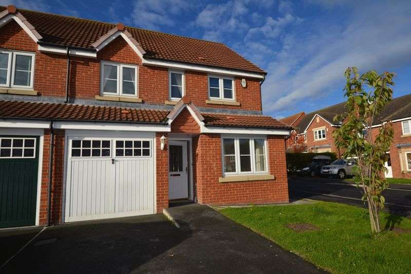 3 Bedrooms Semi Detached House for sale in Tyelaw Meadows, Alnwick