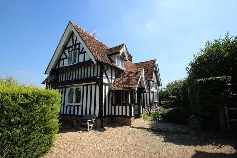 4 Bedrooms Detached House for sale in Tudeley, Tonbridge