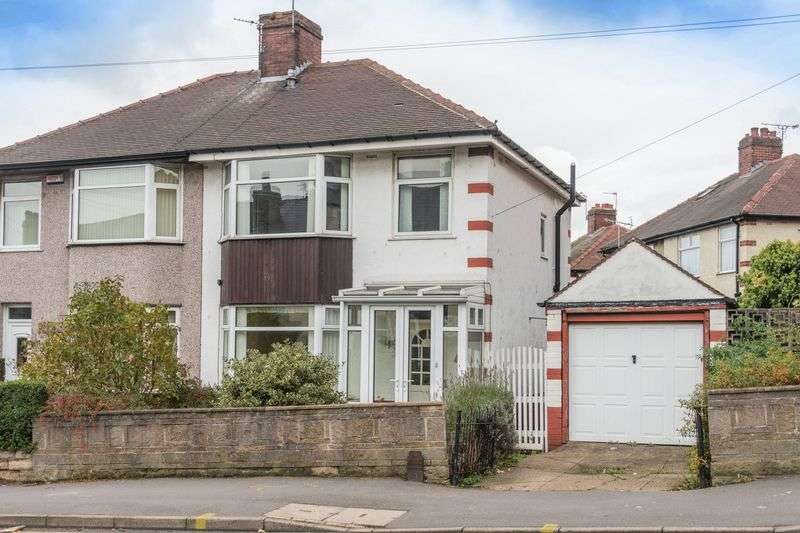 3 Bedrooms Semi Detached House for sale in Walkley Lane, Walkley S6 2PA - No Chain & Off Road Parking!