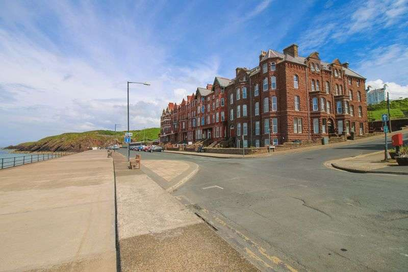 2 Bedrooms Flat for sale in Flat 6 Walpole Apartments, 1 Marine Parade, Peel
