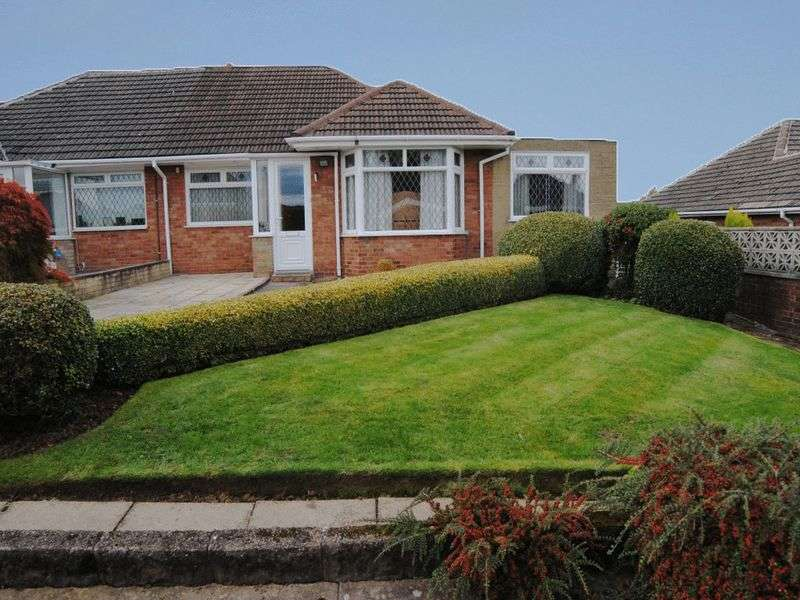 3 Bedrooms Semi Detached Bungalow for sale in Argyll Close, Blythe Bridge, Stoke-On-Trent, ST11 9LA