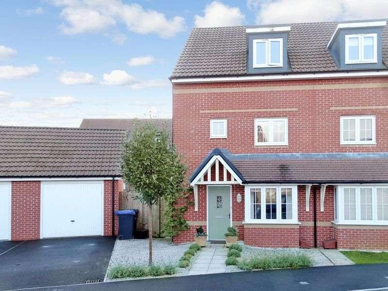 4 Bedrooms Semi Detached House for sale in Hawthorn Road, Melksham