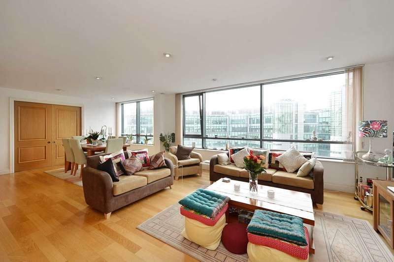 3 Bedrooms Flat for sale in Sheldon Square, W2