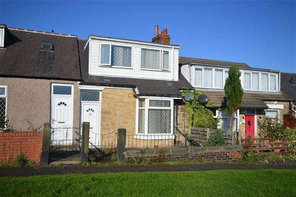 2 Bedrooms Bungalow for sale in Ryde Terrace, Catchgate, Stanley