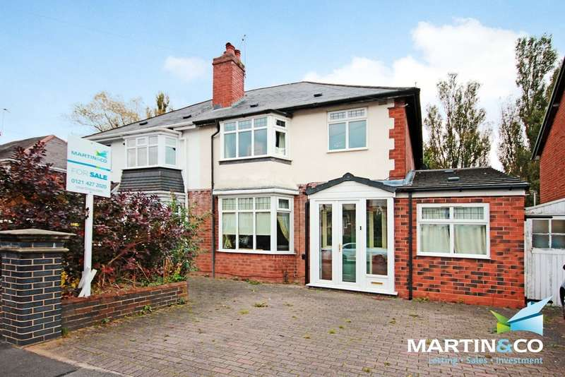 4 Bedrooms Semi Detached House for sale in Woodbourne Road, Bearwood. B67