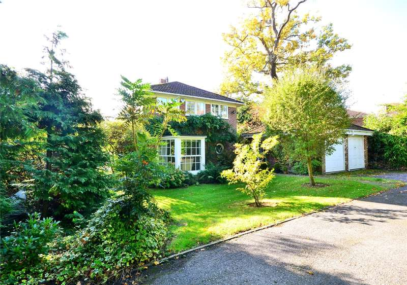 4 Bedrooms Detached House for sale in Holly Spring Lane, Warfield, Berkshire, RG12