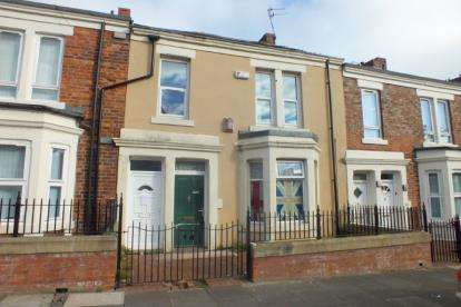 3 Bedrooms Flat for sale in Clara Street, Newcastle Upon Tyne, Tyne and Wear, NE4