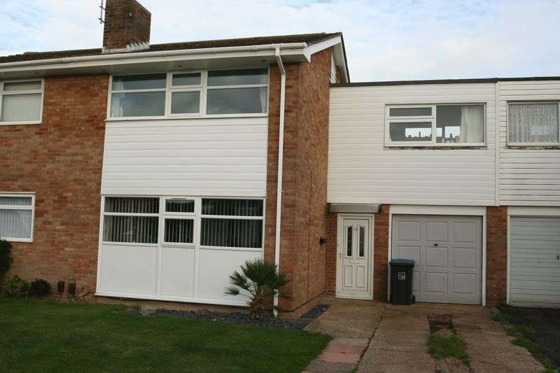 3 Bedrooms Terraced House for sale in Poling Close, Worthing