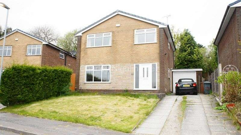 4 Bedrooms Detached House for sale in Heald Close, Rochdale, Greater Manchester. OL12 7HJ