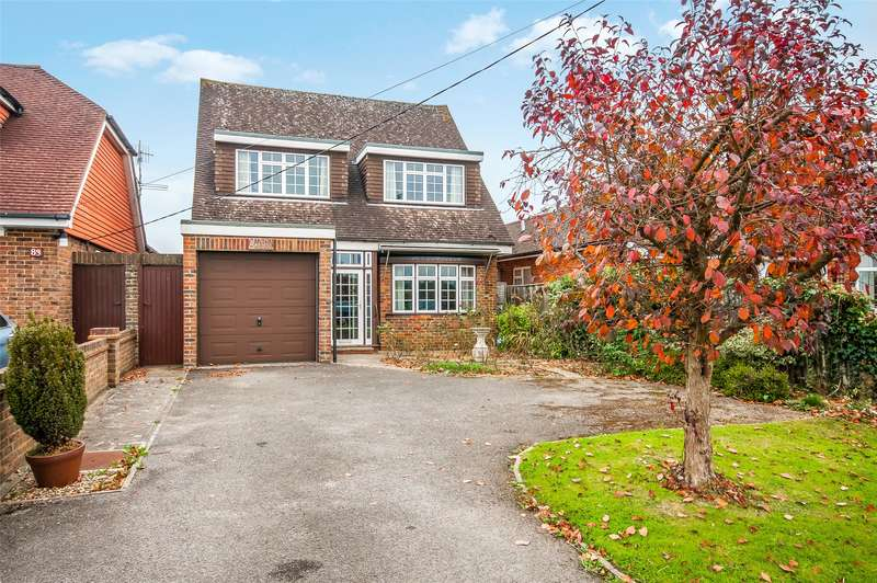 4 Bedrooms Detached House for sale in Middle Street, Brockham, RH3