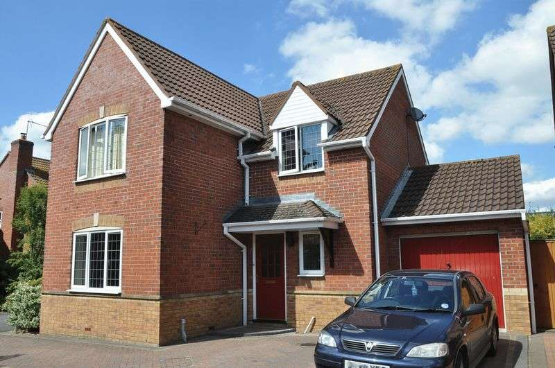 4 Bedrooms Detached House for sale in Beach Close, Evesham, WR11 1GH