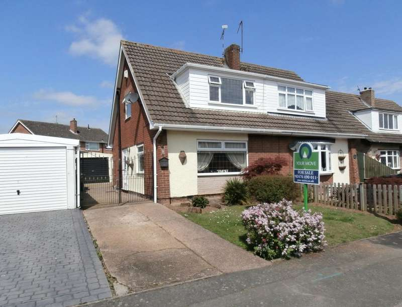 3 Bedrooms Semi Detached House for sale in Trent Road, Bulkington, Bedworth, CV12