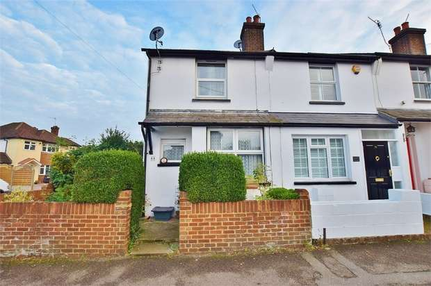 2 Bedrooms End Of Terrace House for sale in Glencoe Road, BUSHEY, Hertfordshire