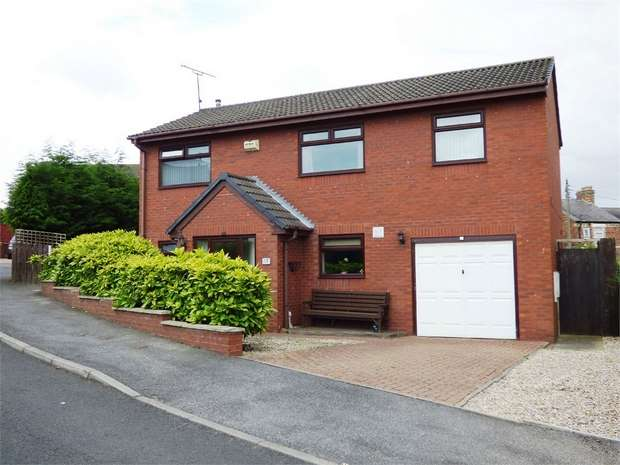 4 Bedrooms Detached House for sale in Brockwell Court, Coundon Grange, Bishop Auckland, Durham