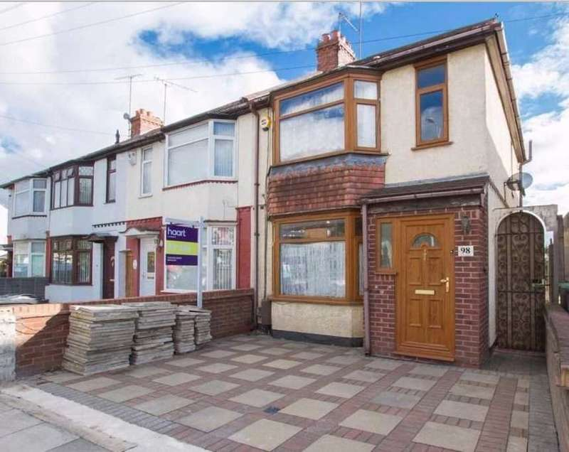 3 Bedrooms End Of Terrace House for sale in Waller Avenue, Luton