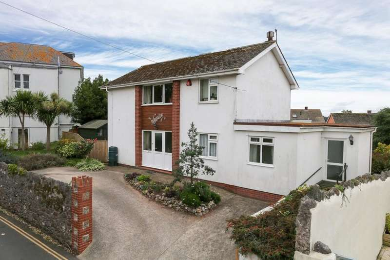 4 Bedrooms Detached House for sale in Landscore Road, Teignmouth