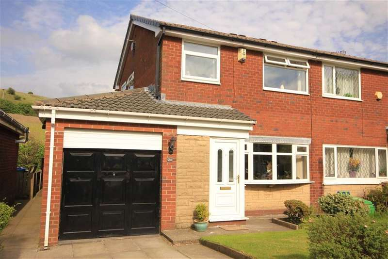 3 Bedrooms Property for sale in Crossfield Close, Wardle, Rochdale