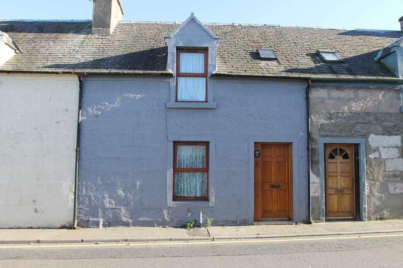 1 Bedroom Terraced House for sale in Harbour Street, Nairn