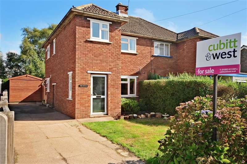 3 Bedrooms Semi Detached House for sale in Blackness Road, Crowborough, East Sussex
