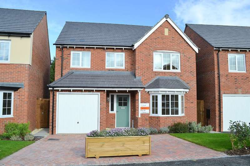 4 Bedrooms Detached House for sale in Sutton Crescent, Barton under Needwood DE13 8FE
