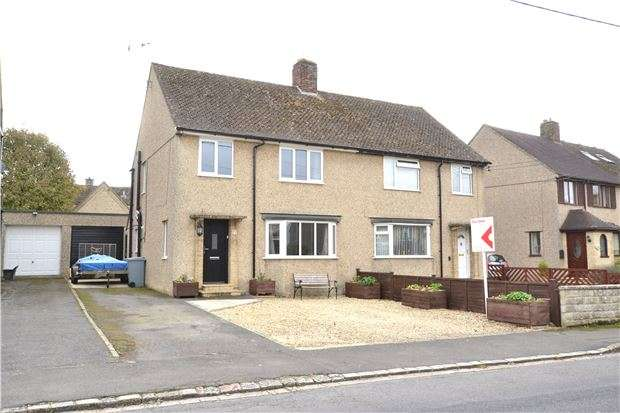 3 Bedrooms Semi Detached House for sale in Giernalls Road, HAILEY