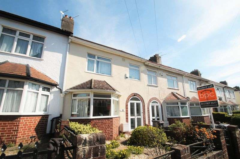 4 Bedrooms Terraced House for rent in **STUDENT PROPERTY** Beverley Road, Horfield, Bristol