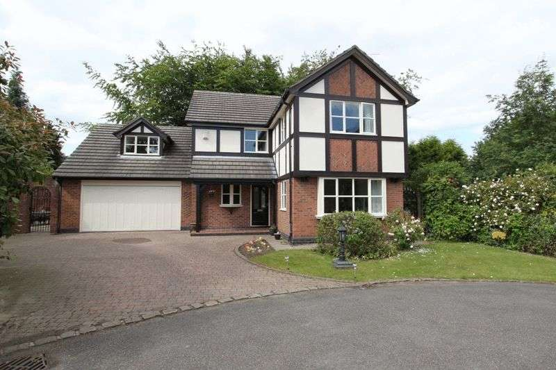 4 Bedrooms Detached House for sale in Pembroke Drive, Newcastle