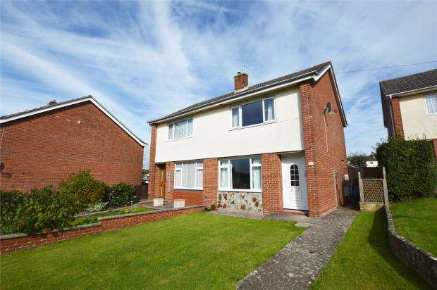 2 Bedrooms Semi Detached House for sale in Langford Avenue, Honiton, Devon