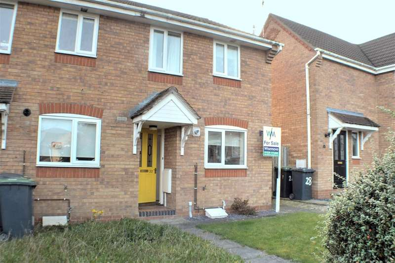 2 Bedrooms End Of Terrace House for sale in Dove Close, Sleaford