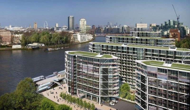 3 Bedrooms Flat for sale in Riverlight Five, Riverlight Quay, London