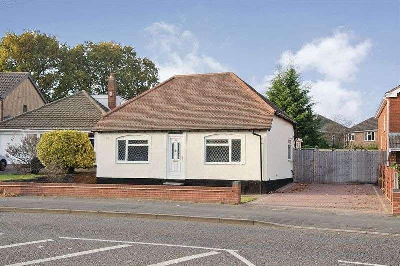 2 Bedrooms Detached Bungalow for sale in Lichfield Road, Shelfield