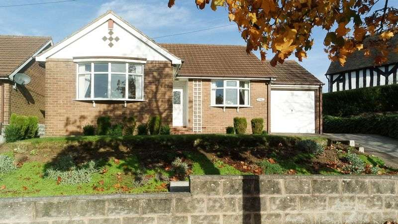 3 Bedrooms Detached Bungalow for sale in Longton Hall Road, Blurton, Stoke-On-Trent, ST3 2EJ