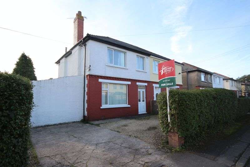 3 Bedrooms Semi Detached House for sale in Claremont Crescent, Rumney, Cardiff