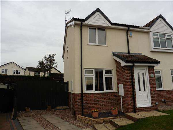 2 Bedrooms Semi Detached House for sale in Turner Drive, Giltbrook, Nottingham