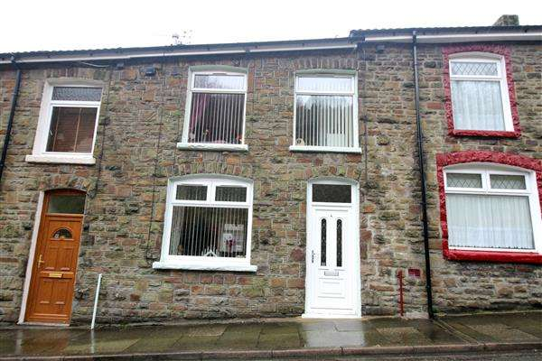 2 Bedrooms Terraced House for sale in Morton Terrace, Tonypandy