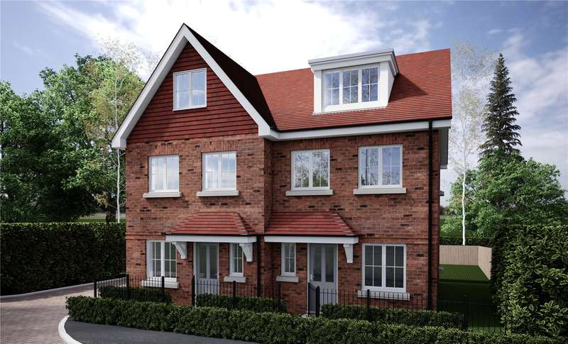 3 Bedrooms Semi Detached House for sale in Fernbank Road, Ascot, Berkshire, SL5