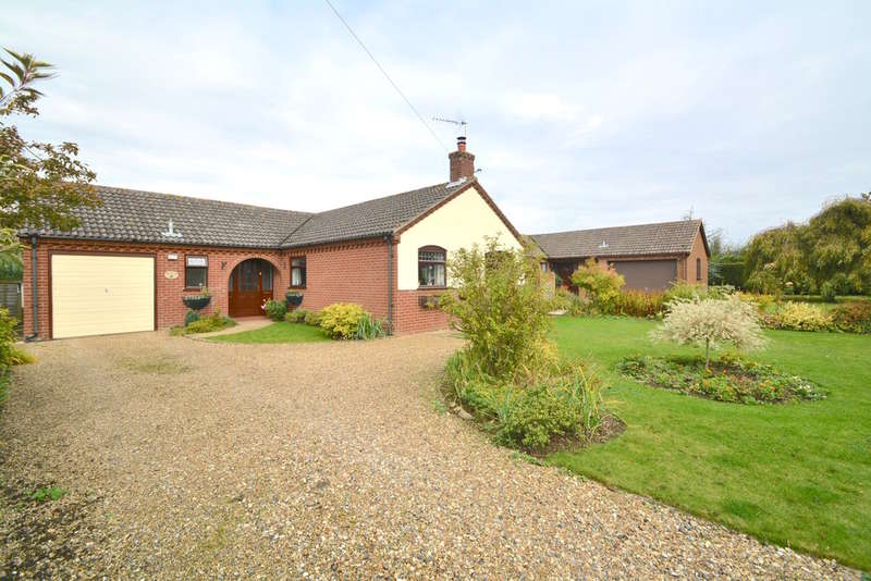 3 Bedrooms Detached Bungalow for sale in The Street, Rumburgh, Halesworth