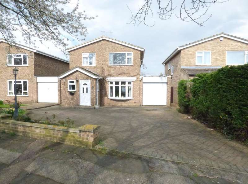 4 Bedrooms Detached House for sale in Prinknash Road, Putnoe, Bedford, MK41 8DJ