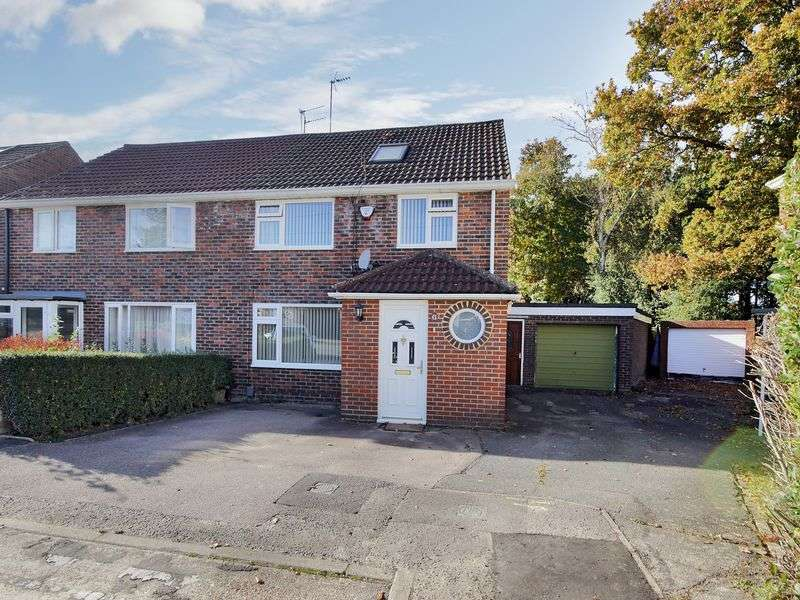4 Bedrooms Semi Detached House for sale in Grange Close, Three Bridges, Crawley, West Sussex