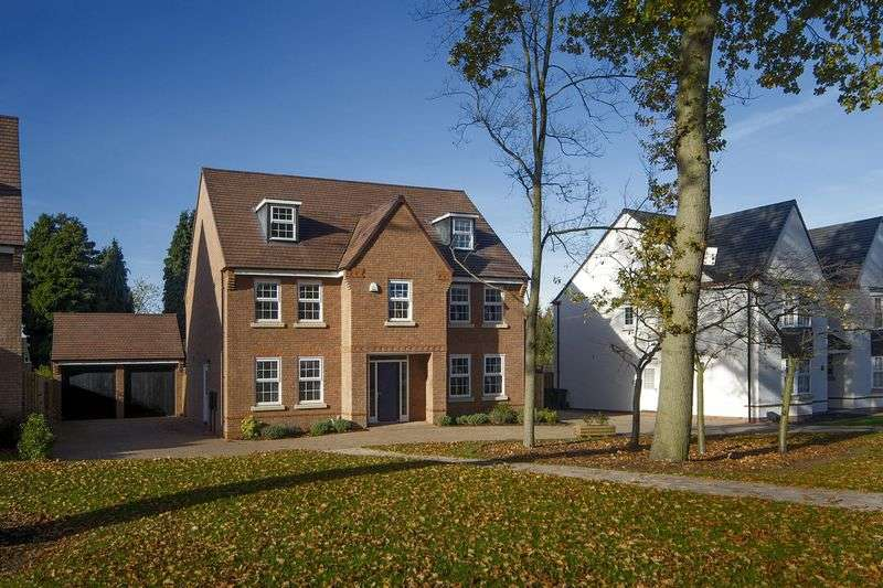 5 Bedrooms Detached House for sale in Woodthorne,off Wergs Road, Tettenhall
